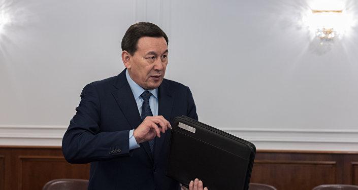 Министр внутренних дел РК Калмуханбет Касымов