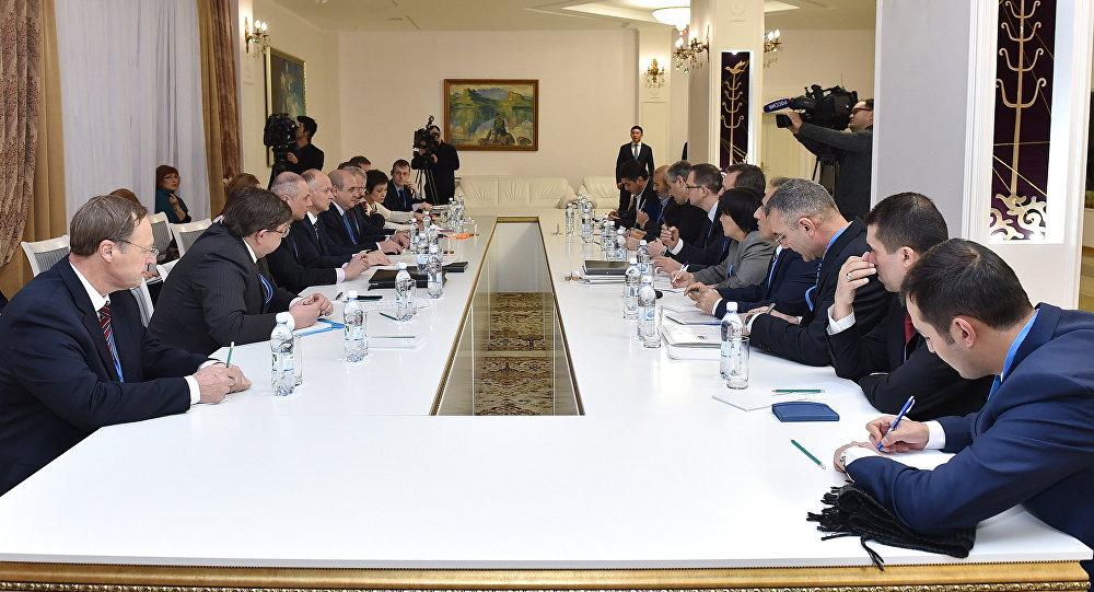 Астанадағы кездесу