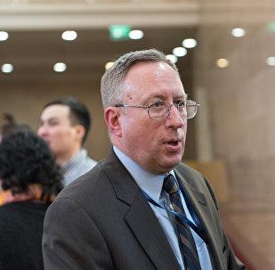 Посол Соединенных Штатов Америки в Казахстане Джордж Крол