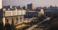 Панорамный вид на город Бишкек. Архивное фото