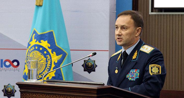 Заместитель генерального прокурора Казахстана Андрей Кравченко