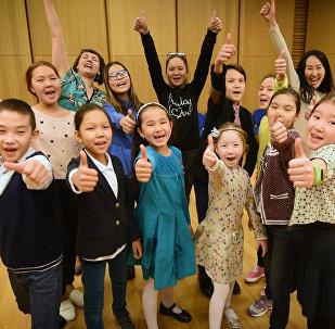 Юные вокалисты Астана Опера пожелали победы участникам Ты супер!
