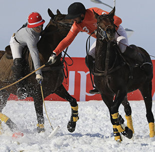 Международный турнир по поло на снегу Almaty Snow Polo Cup
