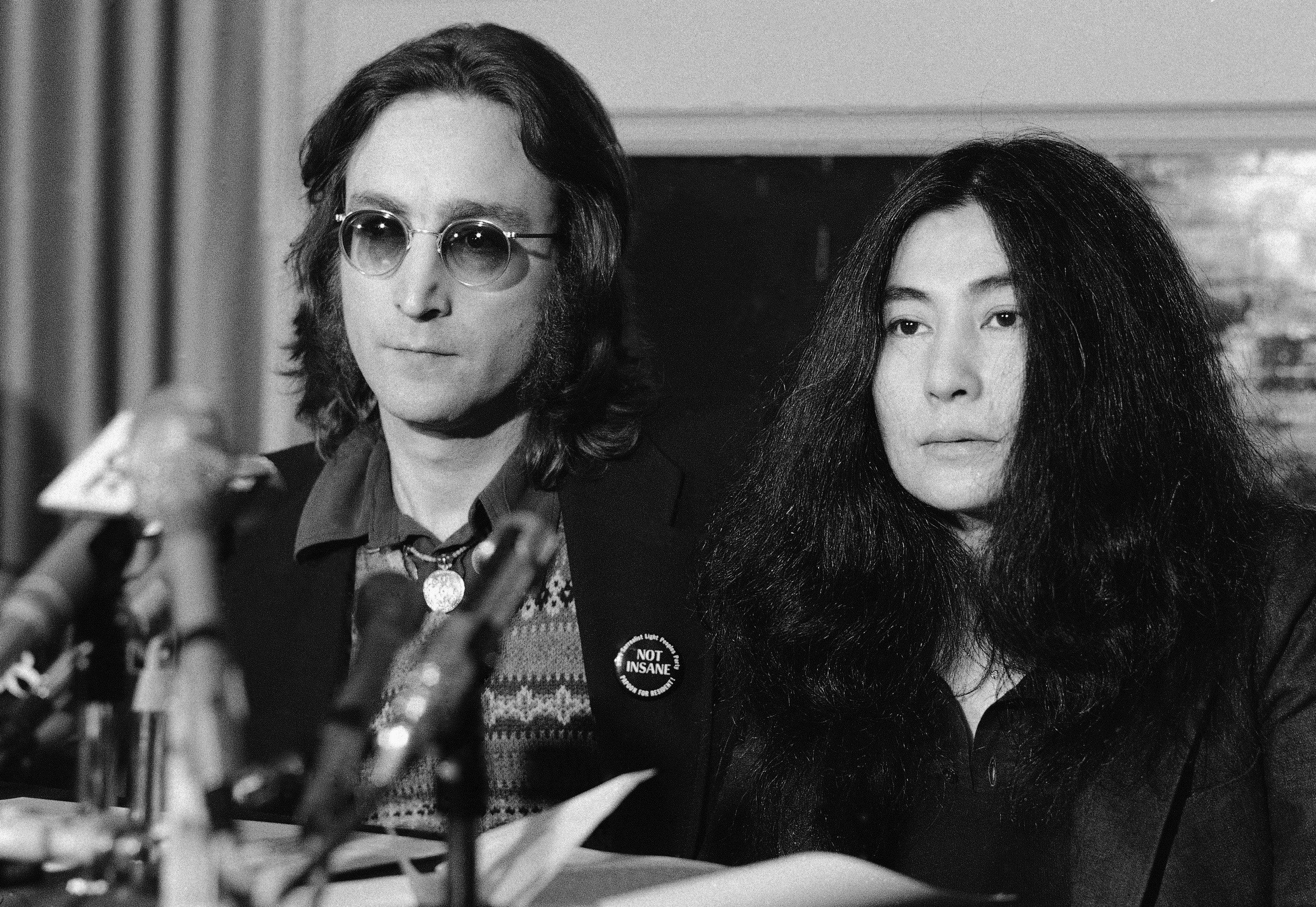 Джон Леннон и Йоко Оно (апрель 1973 года, Нью-Йорк)