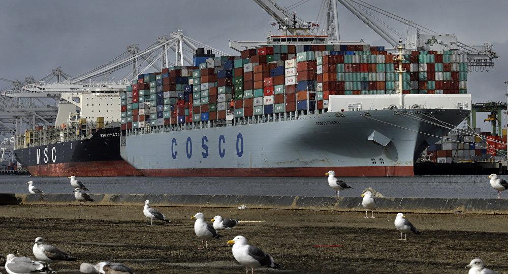 Грузовой корабль Cosco