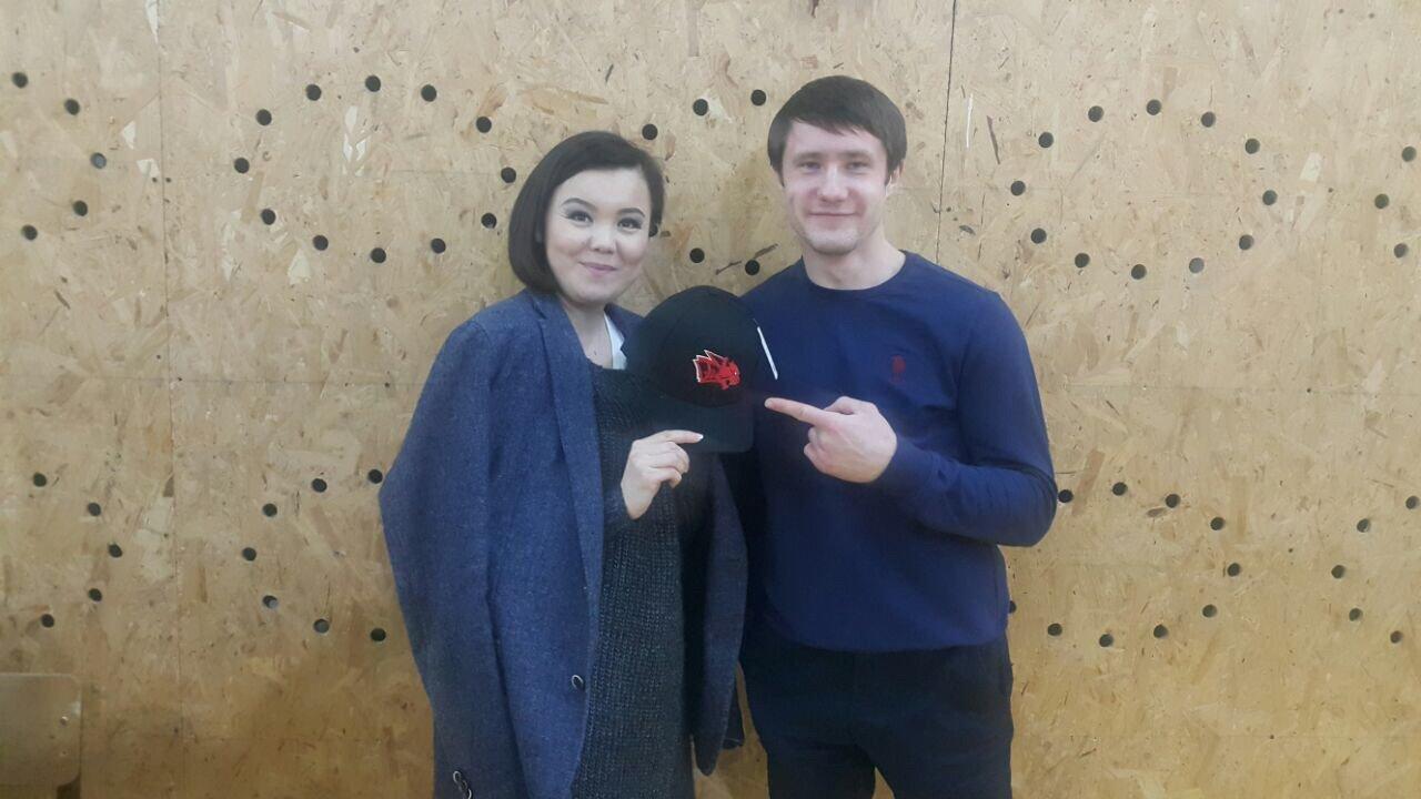 Корреспондент Sputnik и Дмитрий Шпилевой