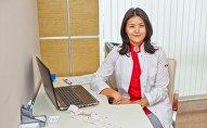 Диетолог центра спортивной медицины Доктор спорт Алия Шаймерденова