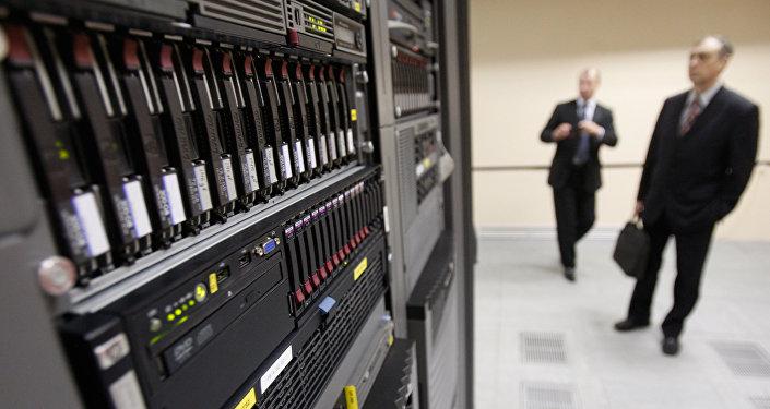 Архивное фото Центра обработки данных (ЦОД)