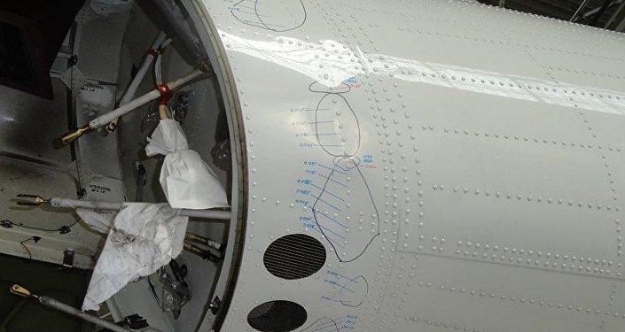 Повреждение самолета Qazaq Air