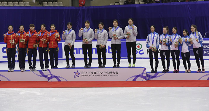 Казахстанки завоевали бронзовую медаль по шорт-треку на Азиаде в Саппоро