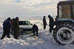 В Павлодарской области из-за непогоды закрыты дороги