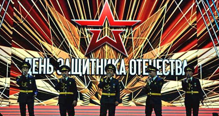Центральный ансамбль Национального военно-патриотического центра Вооруженных Сил РК