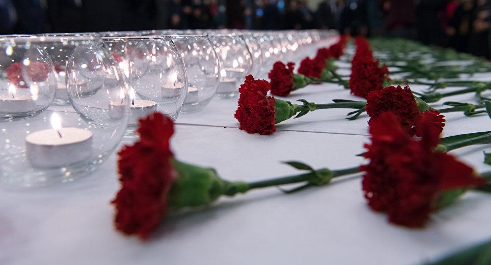 Гвоздики и свечи