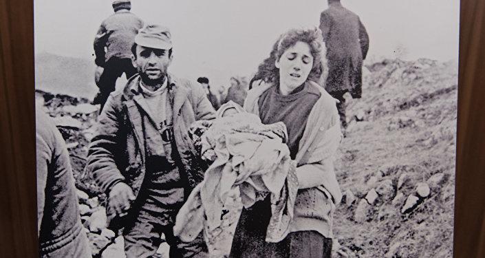 Фотовыставка За мир, свободный от геноцидов: Ходжалинская трагедия