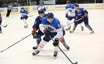 Қазақстандық хоккейшілер