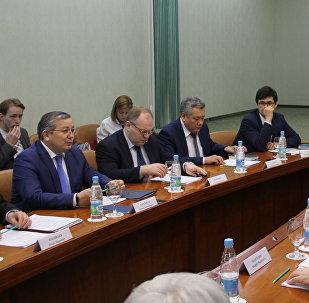 Круглый стол в посольстве Казахстана в России