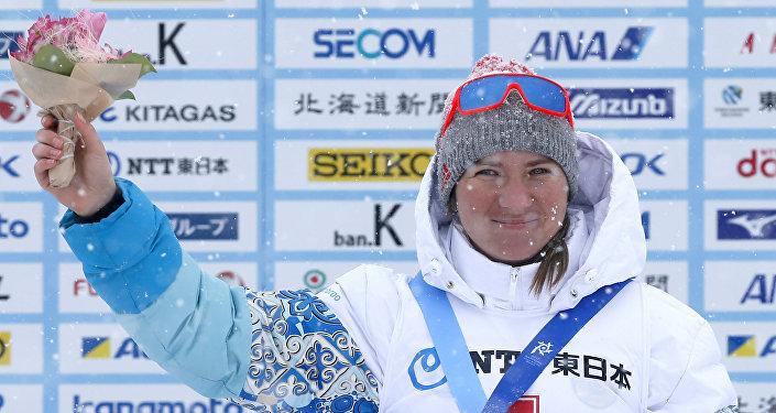 Биатлонистка Галина Вишневская выиграла масс-старт на 12,5 км на Азиаде в Саппоро