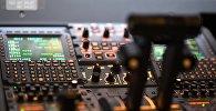 Приборы в кабине пилота