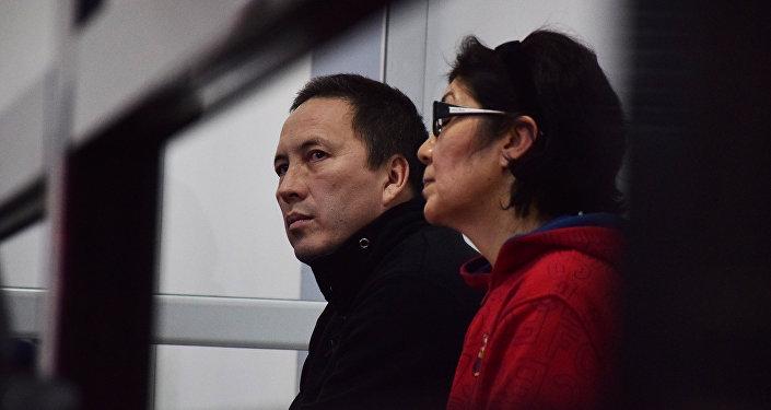 Талгад Жаныбеков и Гаухар Искакова