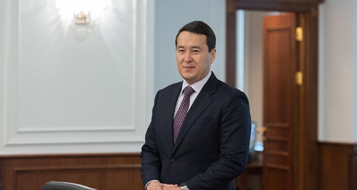 Алихан Смаилов - министр финансов Республики Казахстан