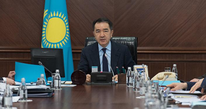 Үкімет басшысы Бақытжан Сағынтаев