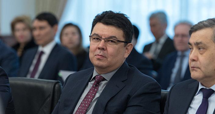 Министр энергетики РК Канат Бозумбаев