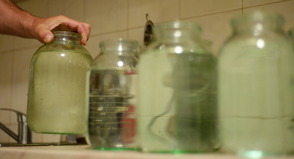 Отключение воды, фото из архива