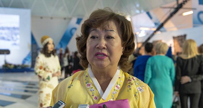 Заместитель председателя этнокультурного объединения корейцев Астаны Роза Пак