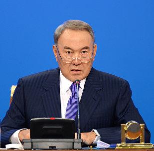 Архивное фото Нурсултана Назарбаева