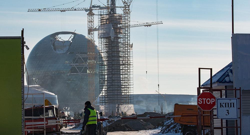 Строящиеся объекты ЭКСПО-2017