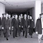 Президент Казахстана Нурсултан Назарбаев и генеральный секретарь ООН Бутрос Бутрос-Гали
