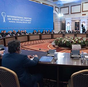 Астанадағы сириялық келіссөздер