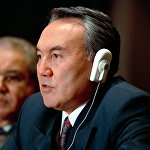 Архивное фото выступления Нурсултана Назарбаева на конференции в штаб-квартире ООН