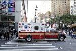 Скорая помощь в Нью-Йорке. Архивное фото