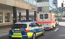Скорая и полиция Германии. Архивное фото