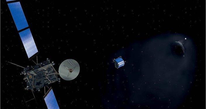 Миссия Розетта: космический аппарат и зонд Фила