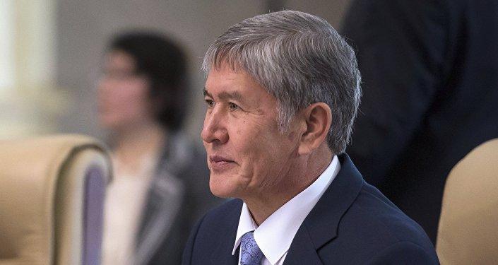 Қырғыз президенті Алмазбек Атамбаев