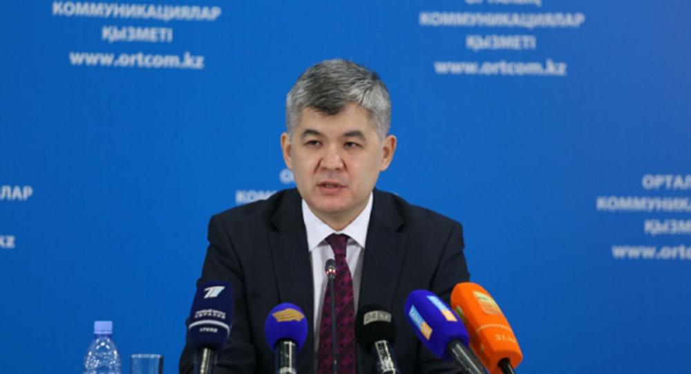 Министр здравоохранения РК Елжас Биртанов