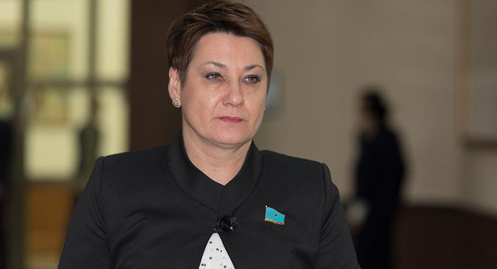 Депутат мажилиса парламента РК Ольга Шишигина