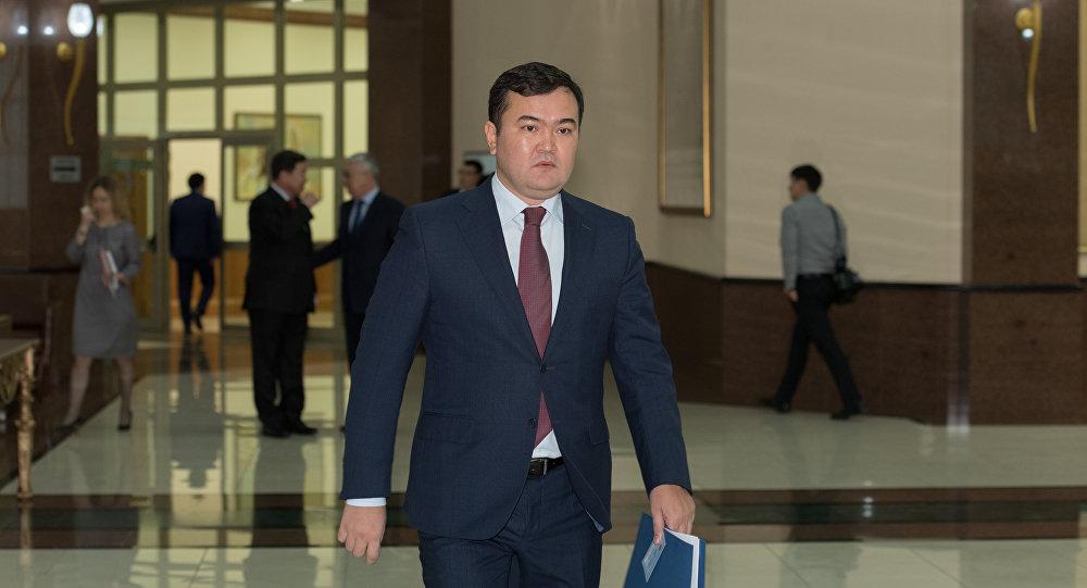 ҚР инвестициялар және даму министрі Жеңіс Қасымбек