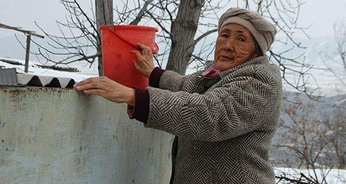 64-летняя жительница Оша Бааркан Калдыбаева