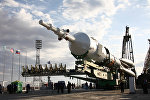Архивное фото космодрома Байконур