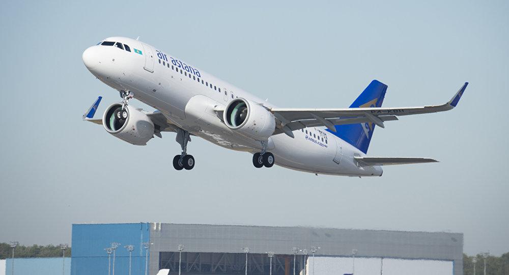 A320NEO Эйр Астана