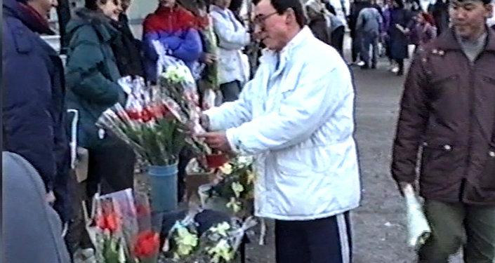 Как готовились к 8 марта в Алматы 90-х годов