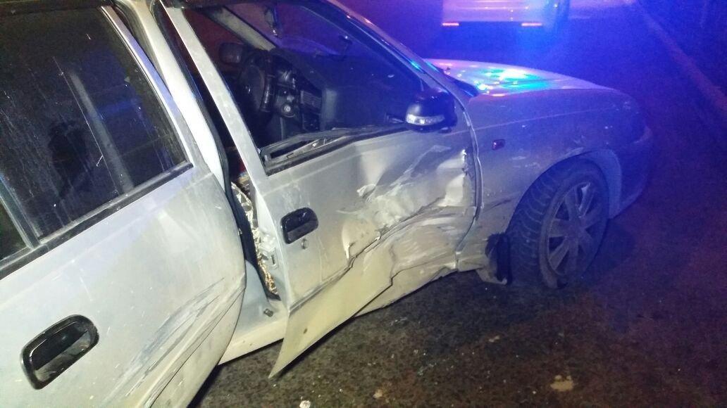 Mitsubishi Chariot и Daewoo Nexia столкнулись в Алматы