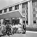 Здание Карагандинского государственного университета