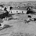 Общий вид города Караганды в 1937 году