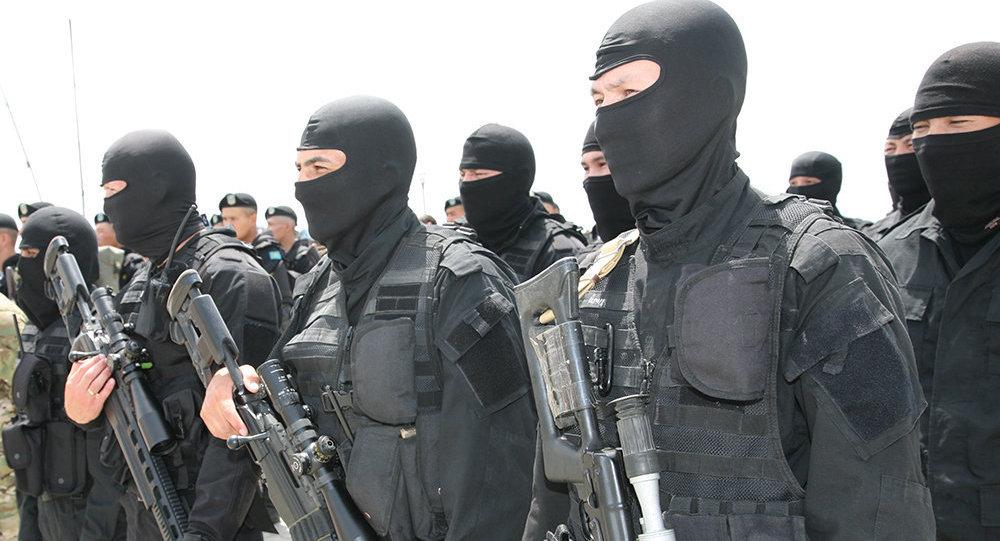 Антитеррористические учения КНБ. Архивное фото