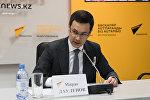 Заместитель председателя правления Казахстанского гуманитарно-юридического университета Мирас Дауленов