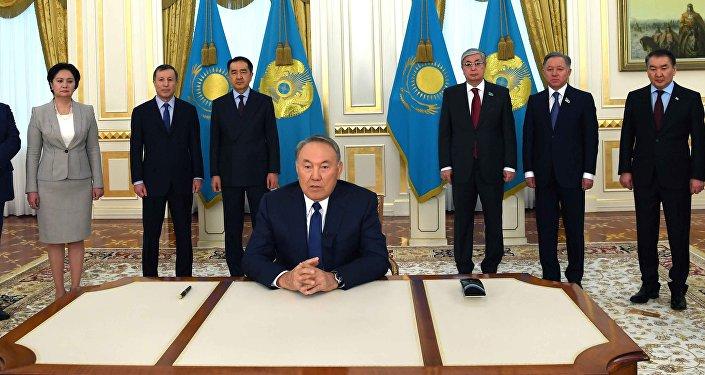 Президента Казахстана Нурсултан Назарбаев